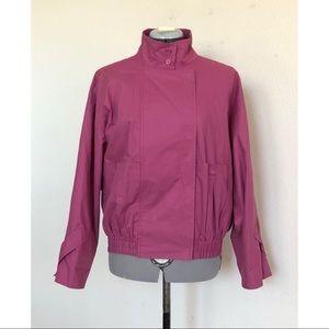 Rare Vtg Christian Dior Actifs Cotton Pink Jacket
